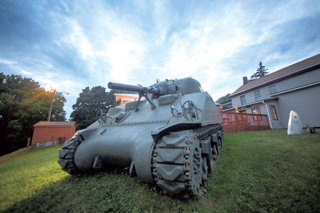Winooski's Sherman tank - JAMES BUCK
