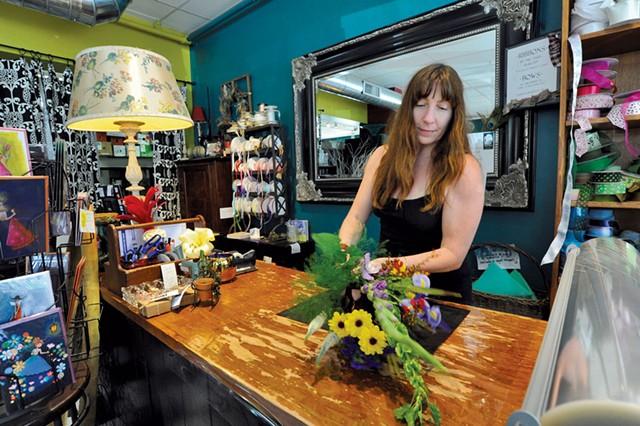 Nina Towne, owner of Proud Flower - JEB WALLACE-BRODEUR