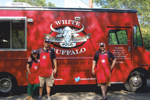 White Buffalo Food Company - COURTESY OF WHITE BUFFALO FOOD COMPANY