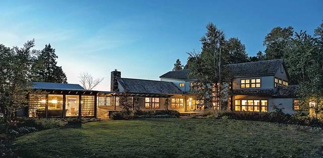 $3,300,000. 151 Ordway Shore Road, Shelburne. 3-4 bedrooms, 5 baths, 4,0000 sq. ft., 5-plus acres. REF#VT0692. - COURTESY OF LANDVEST