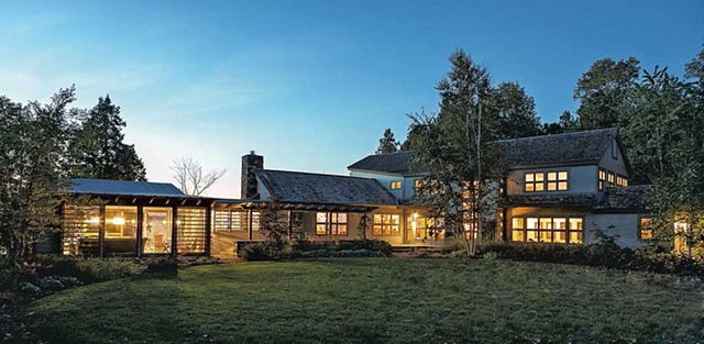$3,300,000. 151 Ordway Shore Road, Shelburne. 3-4 bedrooms, 5 baths, 4,0000 sq. ft., 5-plus acres. REF#VT0692. - COURTESY OF LANDVEST