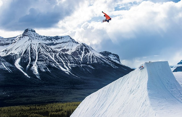 Nils Mindnich, Banff - COURTESY OF MIKE YOSHIDA