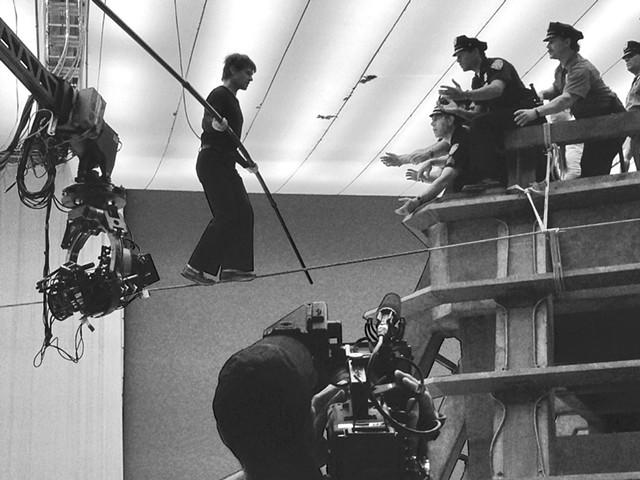 Jade Kindar-Martin on the set of The Walk - COURTESY OF JADE KINDAR-MARTIN