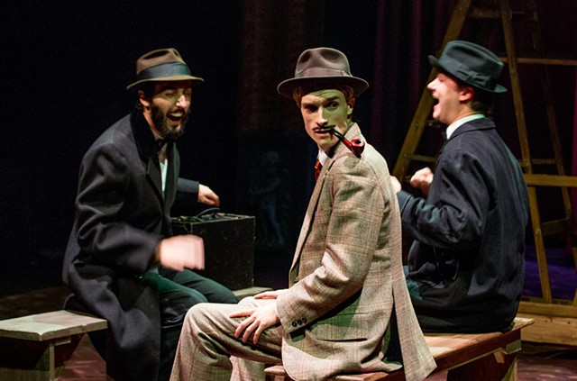 Left to right: Luke Lakea, Christian DeKett and Sam Hall - PHOTO COURTESY OF DOK WRIGHT PHOTOGRAPHY