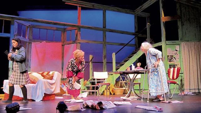 Left to right: Vera Escaja-Heiss, Mary Wheeler, Patty Smith - COURTESY OF MELISSA LOURIE