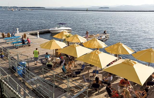 Splash at the Boathouse - OLIVER PARINI
