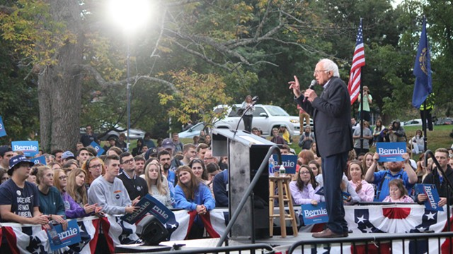 Sanders Walks Back Suggestion That He'll Scale Back His Campaign