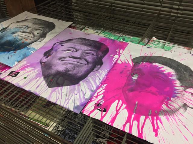 Drying posters - RACHEL JONES