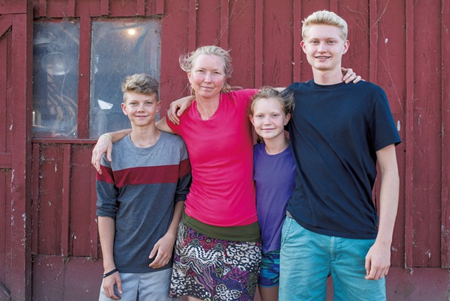Tangletown farm kids - COURTESY OF NORTHEAST ORGANIC FARMING ASSOCIATION