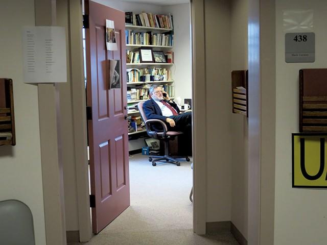 Huck Gutman in his office - MATTHEW THORSEN