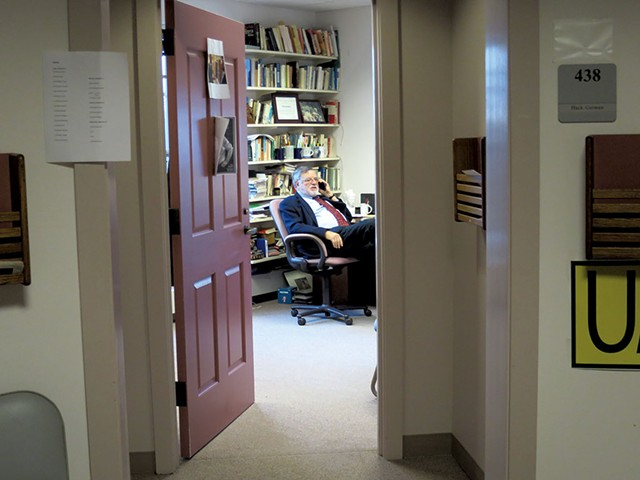 Huck Gutman in his office - MATTHEW THORSEN