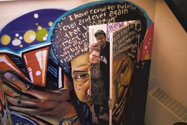 Mural of Audre Lorde - CALEB KENNA