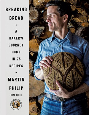Breaking Bread: A Baker's Journey Home in 75 Recipes by Martin Philip, Harper Wave, 400 pages, $35 hardcover.