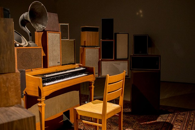 """""""The Poetry Machine"""" by Janet Cardiff and George Bures Miller - PHOTOS COURTESY OF SEBASTIEN ROY / MACM"""