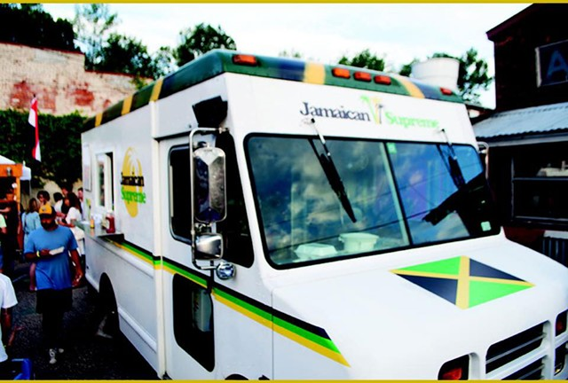 Jamaican Supreme food truck - COURTESY OF  JAMAICAN SUPREME