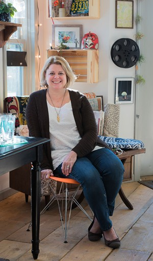 Melissa Mills, owner of Full Circle in Winooski - COURTESY OF JESSE KECK