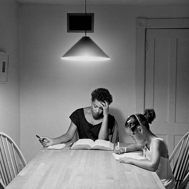 """Untitled (from the 'Kitchen Table Series')"" by Carrie Mae Weems"