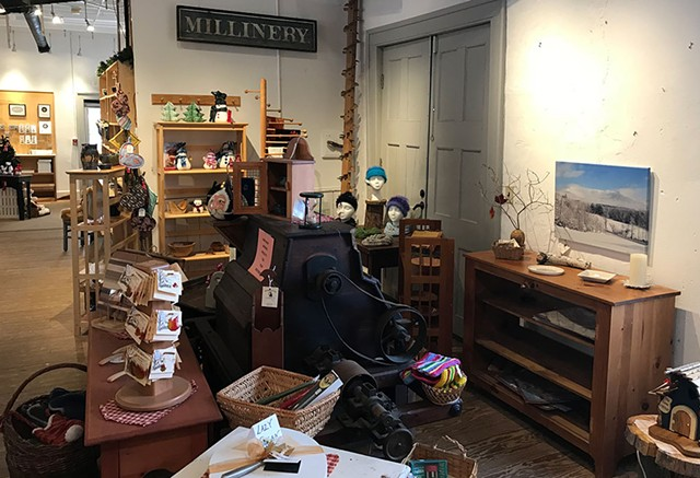 The Old Red Mill craft shop - SUZANNE M. PODHAIZER