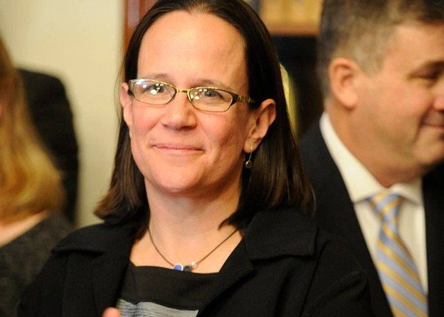 Agency of Natural Resources Secretary Julie Moore - FILE: JEB WALLACE-BRODEUR