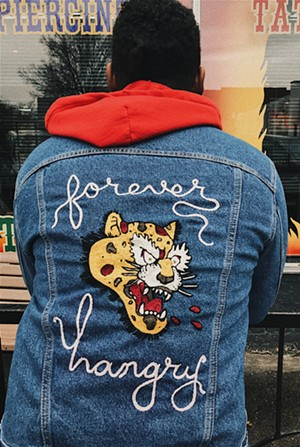 A custom jacket by Bad Luck Goods - COURTESY OF BAD LUCK GOODS
