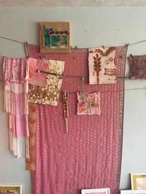 A glimpse of Elizabeth Bunsen's home studio. - SADIE WILLIAMS