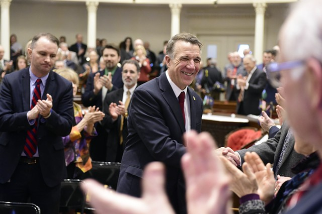 Gov. Phil Scott - JEB WALLACE-BRODEUR