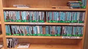 CD collection of Native American artists at WRUV - KYMELYA SARI