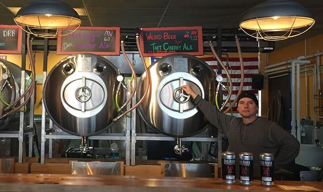 Leo Foy at Dog River Brewery - HANNAH PALMER EGAN