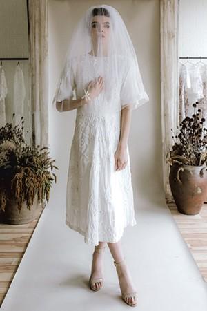 Wedding dress from Rackk & Ruin - COURTESY OF JACQUELYN POTTER