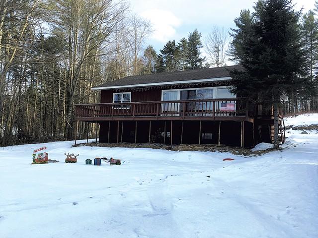 The Randolph Road home - MARK DAVIS