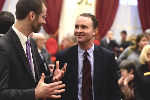Vermont Attorney General T.J. Donovan - FILE: JEB WALLACE-BRODEUR