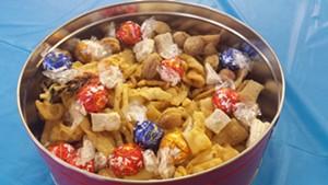 Chocolates and khapse, Tibetan cookies - KYMELYA SARI