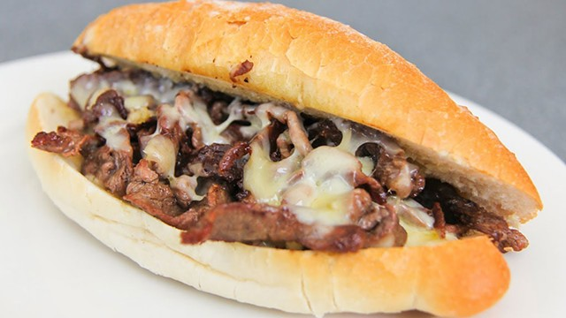 Philly cheesesteak at Bessery's Butcher Shoppe - COURTESY OF BESSERY'S