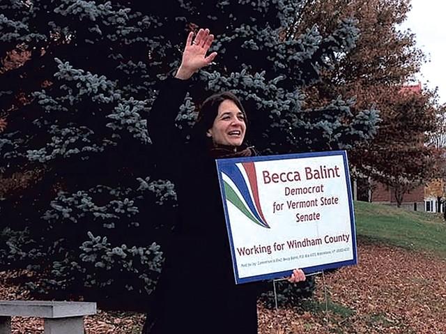 Becca Balint campaigning - COURTESY OF BECCA BALINT
