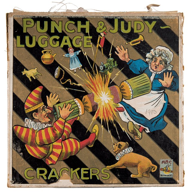 """""""Punch & Judy Luggage Crackers"""" by MHC - COURTESY OF ANDY DUBACK"""