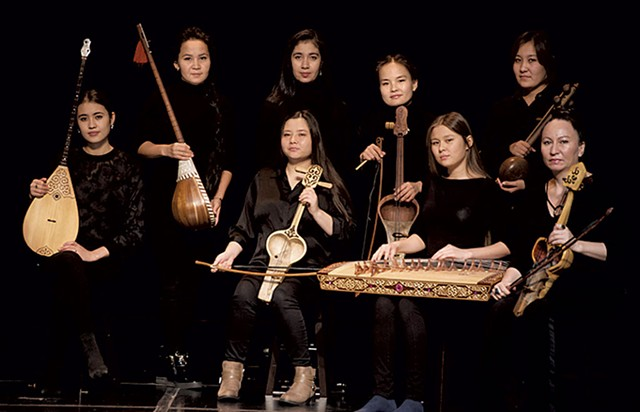 The Qyrq Qyz musicians - COURTESY OF JENNIFER HAUCK/AGA KHAN MUSIC INITIATIVE