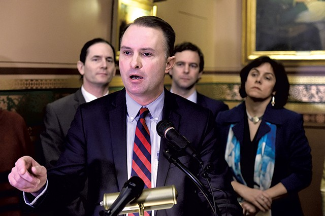 Attorney General T.J. Donovan - JEB WALLACE-BRODEUR