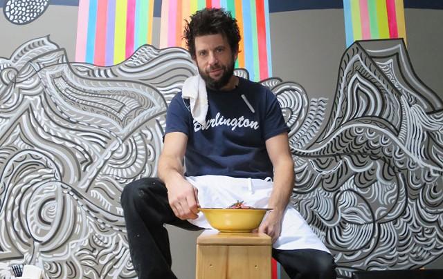 Chef George Lambertson of ArtsRiot - MATTHEW THORSEN