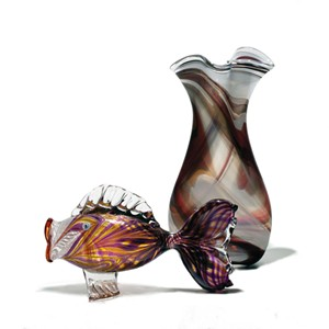 Glass art by Glenn Ziemke - COURTESY OF GLENN ZIMKE