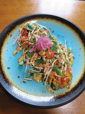 Okinawa Omelette at ArtsRiot - MATTHEW THORSEN
