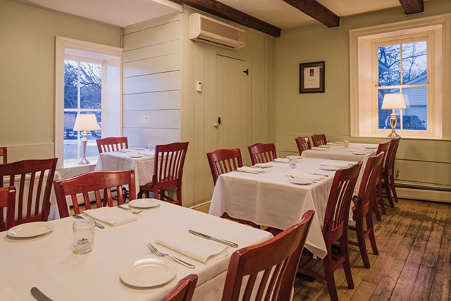 The Kitchen Table Bistro's farmhouse dining room - OLIVER PARINI