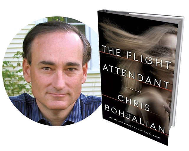 The Flight Attendant by Chris Bohjalian, Doubleday, 368 pages. $26.95. - COURTEYS OF CHRIS BOHJALIAN