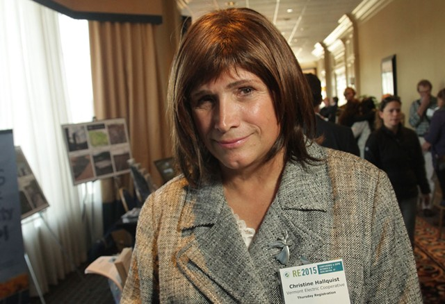 Christine Hallquist - FILE: MATTHEW THORSEN