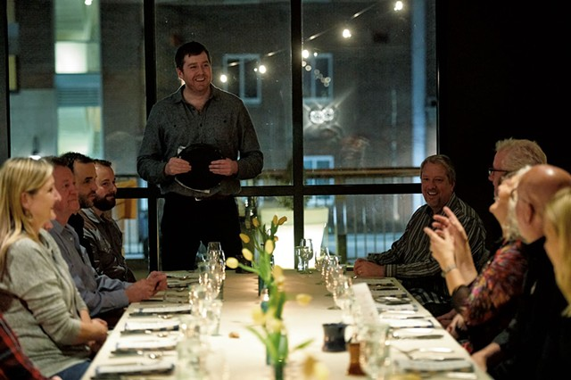 Hotel Vermont hosted a dinner as part of Zephyr Conferences' second annual Beer Marketing & Tourism Conference - BEAR CIERI