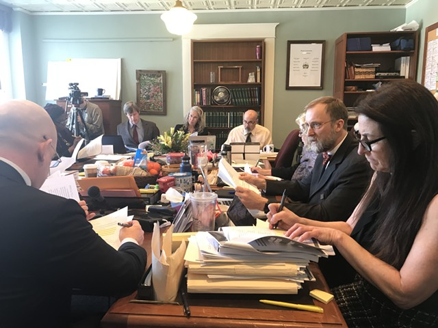 Vermont's House Judiciary Committee - TAYLOR DOBBS