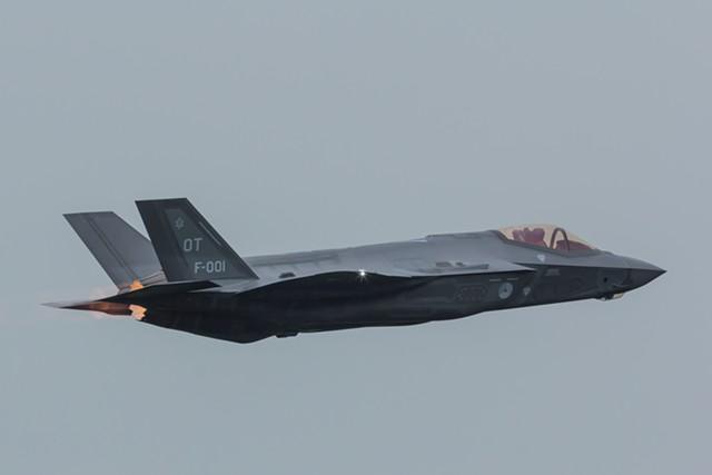 An F-35 - ARJAN VAN DE LOGT/DREAMSTIME.COM