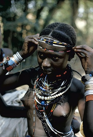 Ethiopian girl by James P. Blair - COURTESY OF NATIONAL GEOGRAPHIC SOCIETY