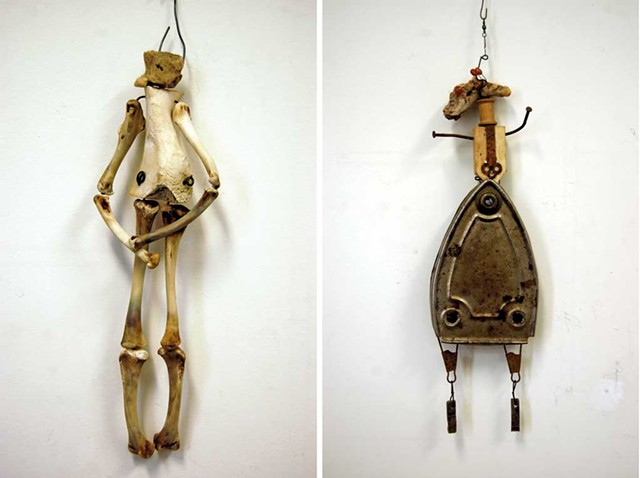 """Puppets"" by Janet Van Fleet - COURTESY OF VERMONT ARTS COUNCIL"
