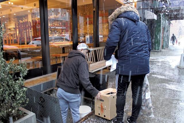 Deliveries to New York City - MELISSA PASANEN