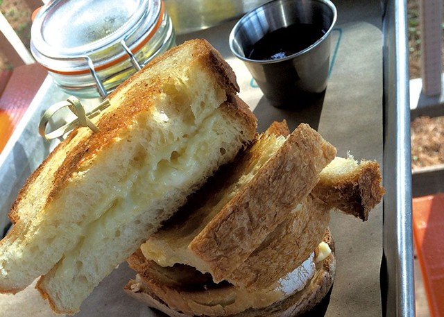 Grilled cheese  at Picnic Social - SUZANNE PODHAIZER